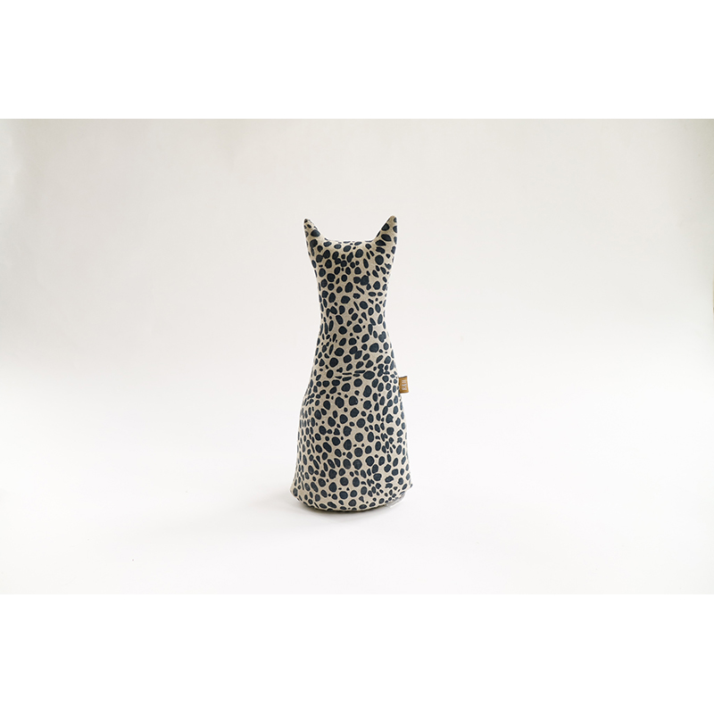 Animal Print Door Stopper Navy Blue