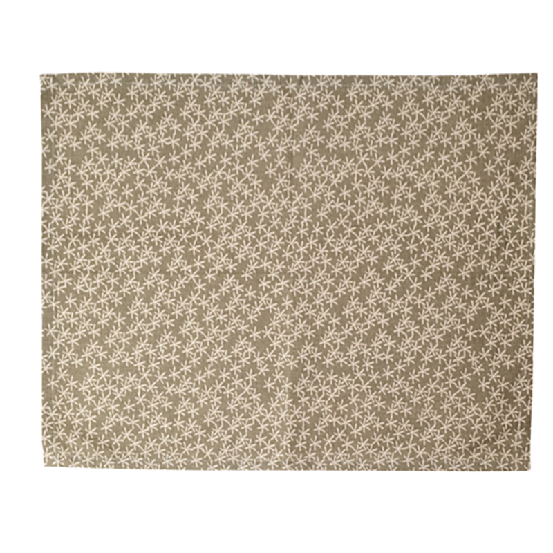 Daisy Rain Placemat Simply Taupe
